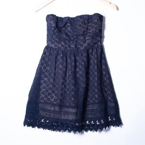 dELiA's Black Lace Sleeveless Dress Size_S